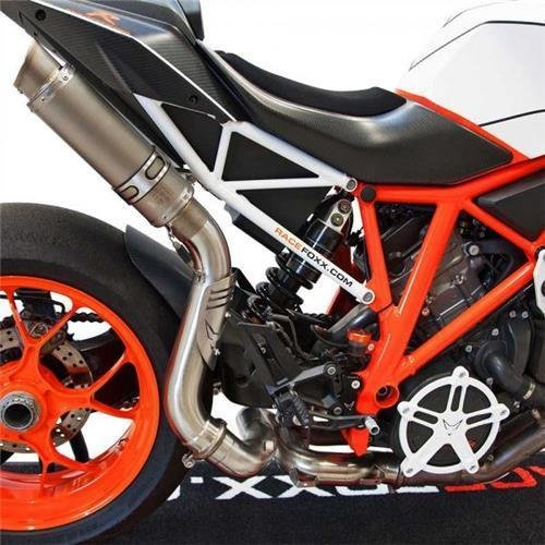 BODIS TOP Auspuff GP1-RS Race Foxx-Edition KTM 1290 SUPER DUKE R ab 2014 Exhaust